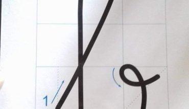 cách viết chữ b