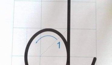 cách viết chữ d