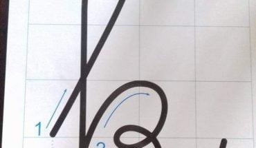 cách viết chữ k