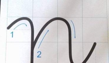 cách viết chữ n
