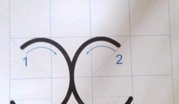 cách viết chữ x