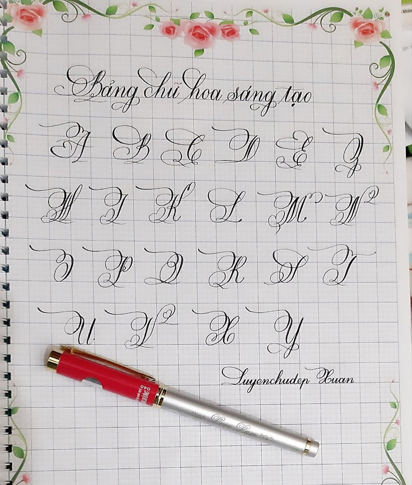 bảng chữ cái tiếng Việt viết hoa