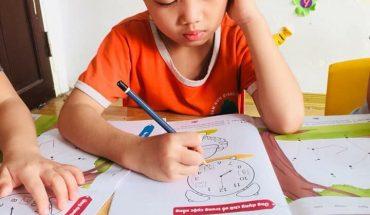 cách dạy con tập viết lớp 1