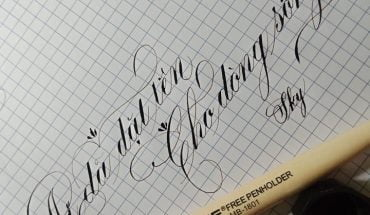 cách viết chữ nghiêng