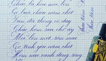 cách viết chữ c sáng tạo