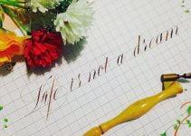 cách viết chữ L sáng tạo