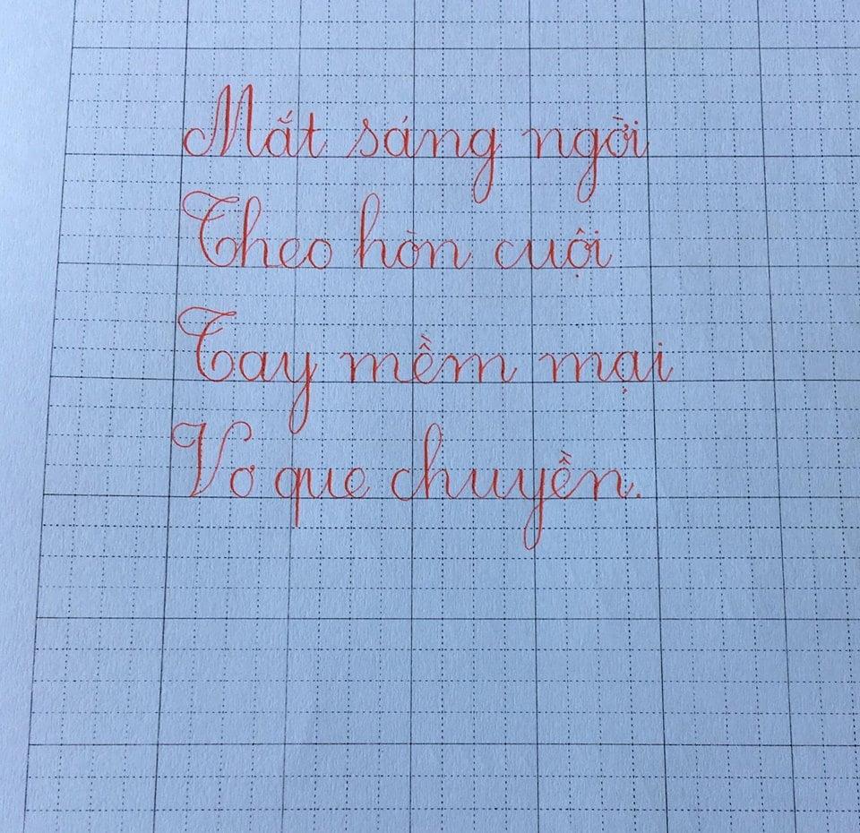 mẫu chữ cái viết thường