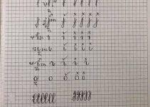nét chữ cơ bản cho trẻ mầm non