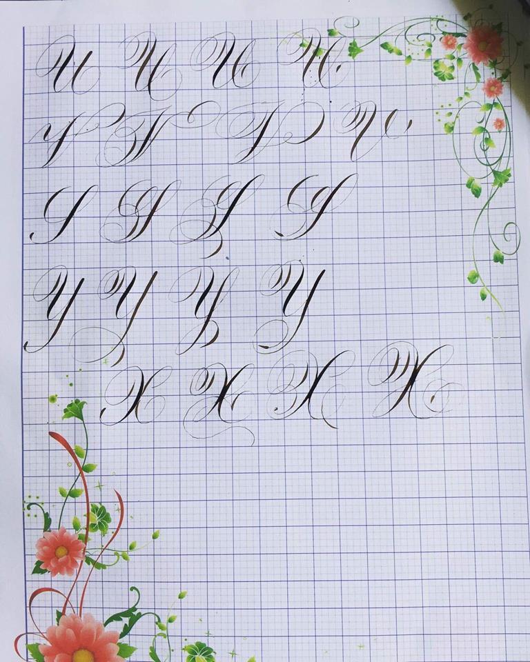 nhóm chữ cái đồng dạng
