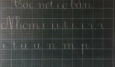nhóm chữ cái viết thường
