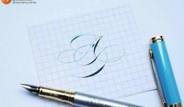 cách viết chữ Â sáng tạo