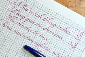 cách viết chữ Đ sáng tạo