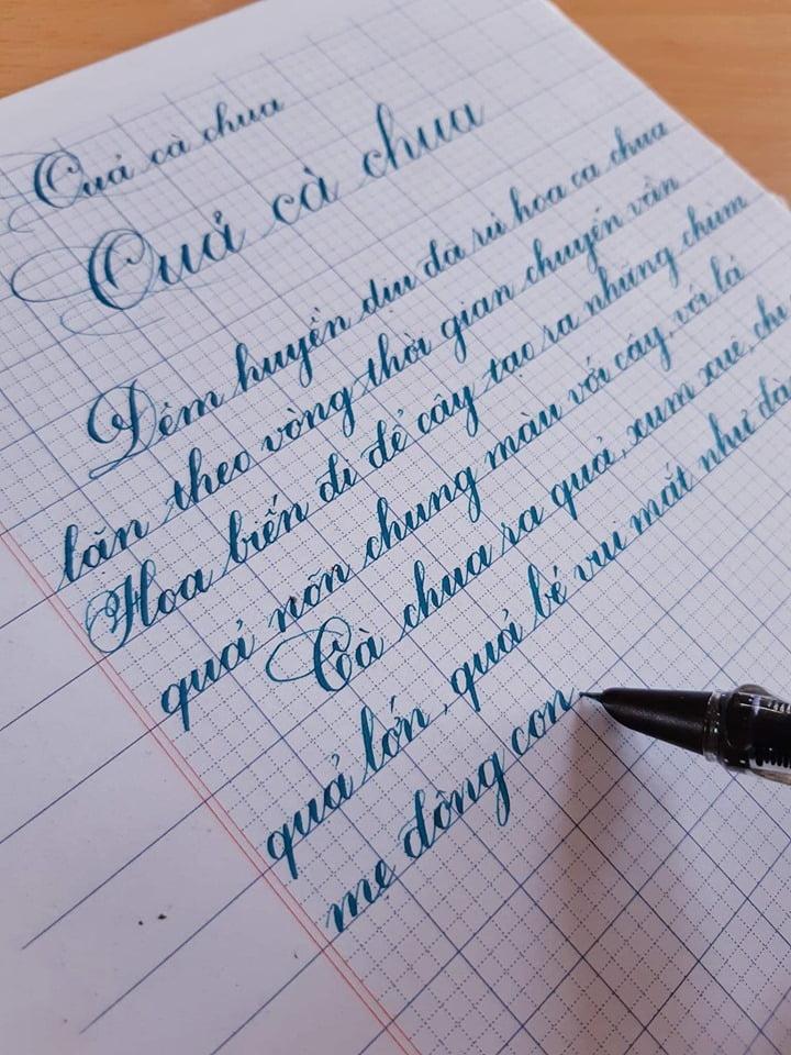 cách viết chữ Q sáng tạo