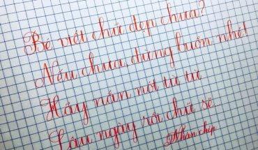 cách viết chữ ư sáng tạo