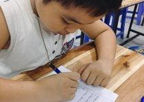 dạy trẻ học chữ sớm