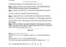 giải bài tập toán lớp 4