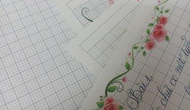 mẫu giấy luyện chữ