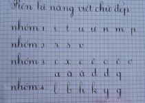 tài liệu luyện viết chữ đẹp