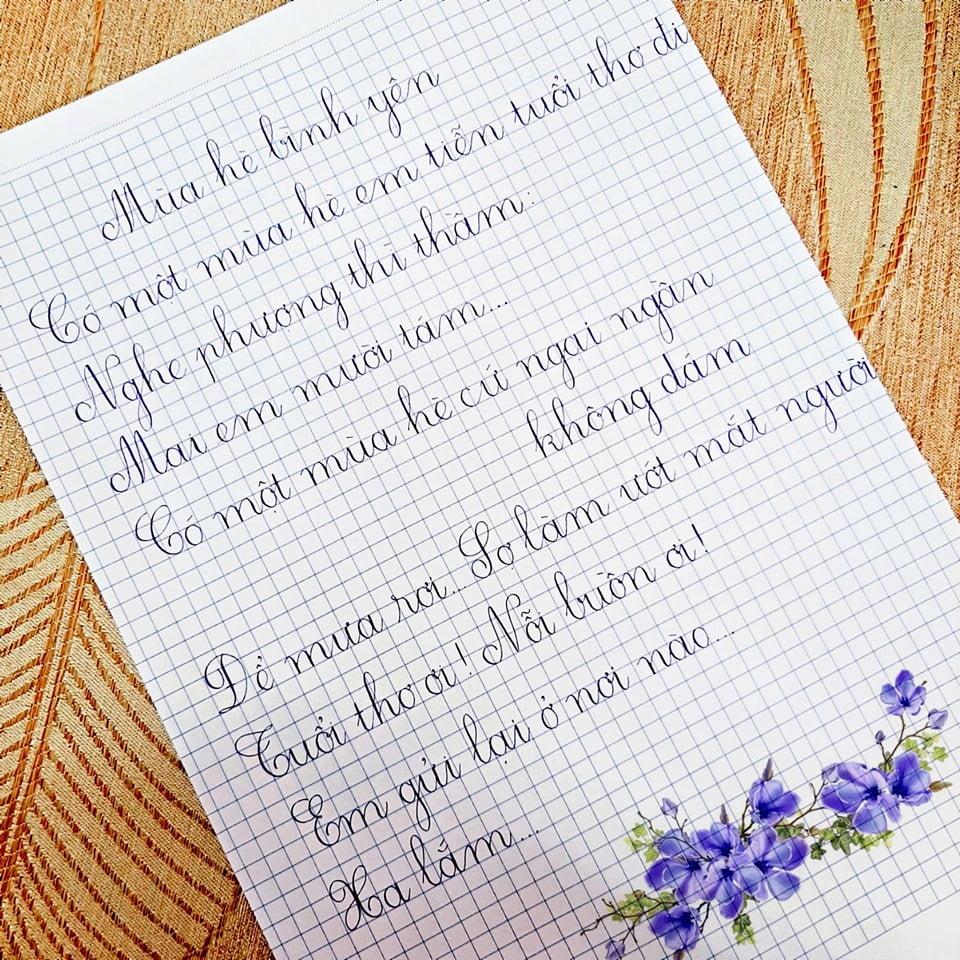viết chữ đẹp