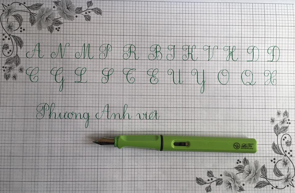 Bảng chữ cái in hoa và các nguyên tắc phải ghi nhớ - Luyện chữ đẹp