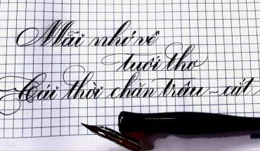 bảng chữ cái nghệ thuật đơn giản