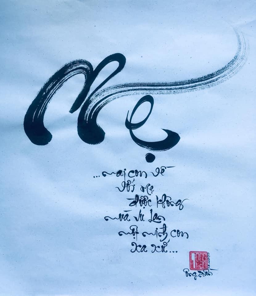 chữ thư pháp Việt Nam