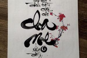 các loại chữ thư pháp