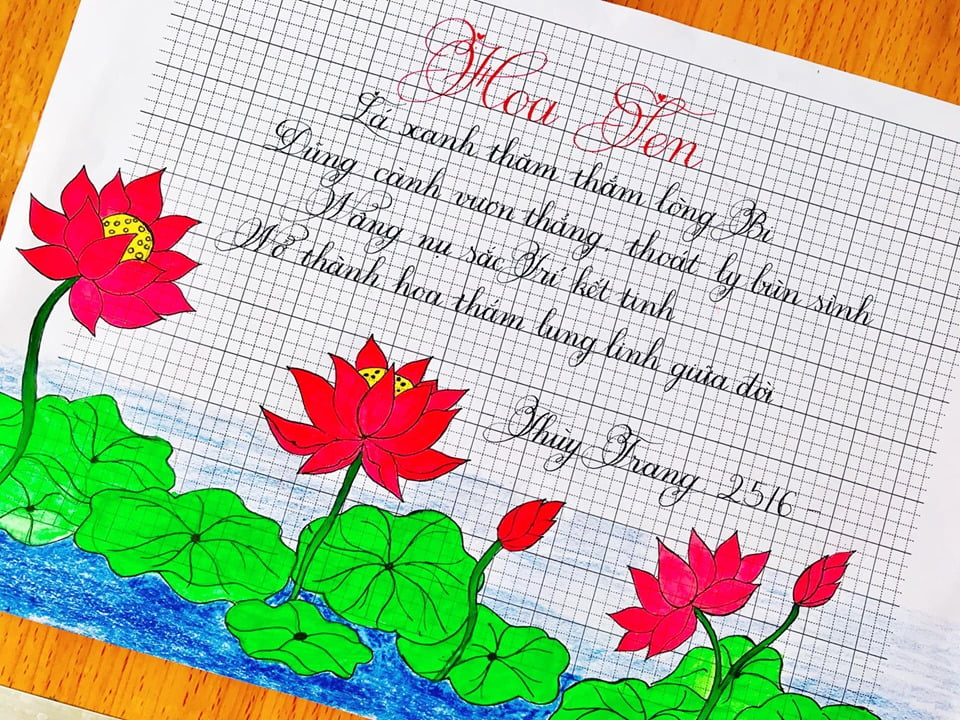 mẫu chữ hoa cho học sinh lớp 1