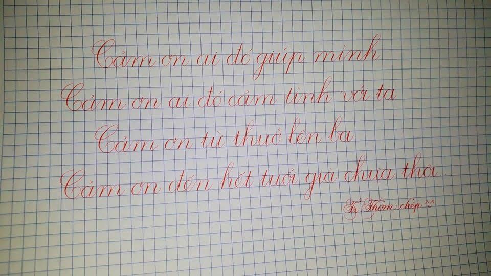 tập viết chữ đẹp
