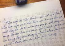 viết chữ nghệ thuật