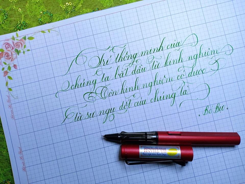 cách chọn bút viết chữ đẹp