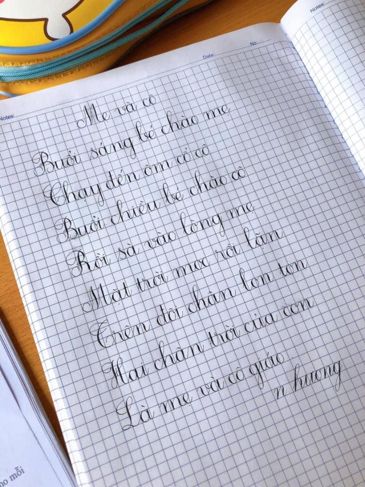 mẫu chữ cho trẻ lớp 1