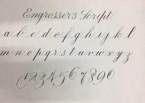 mẫu luyện viết số đẹp