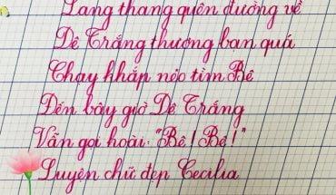 mẫu tập viết chữ hoa lớp 1