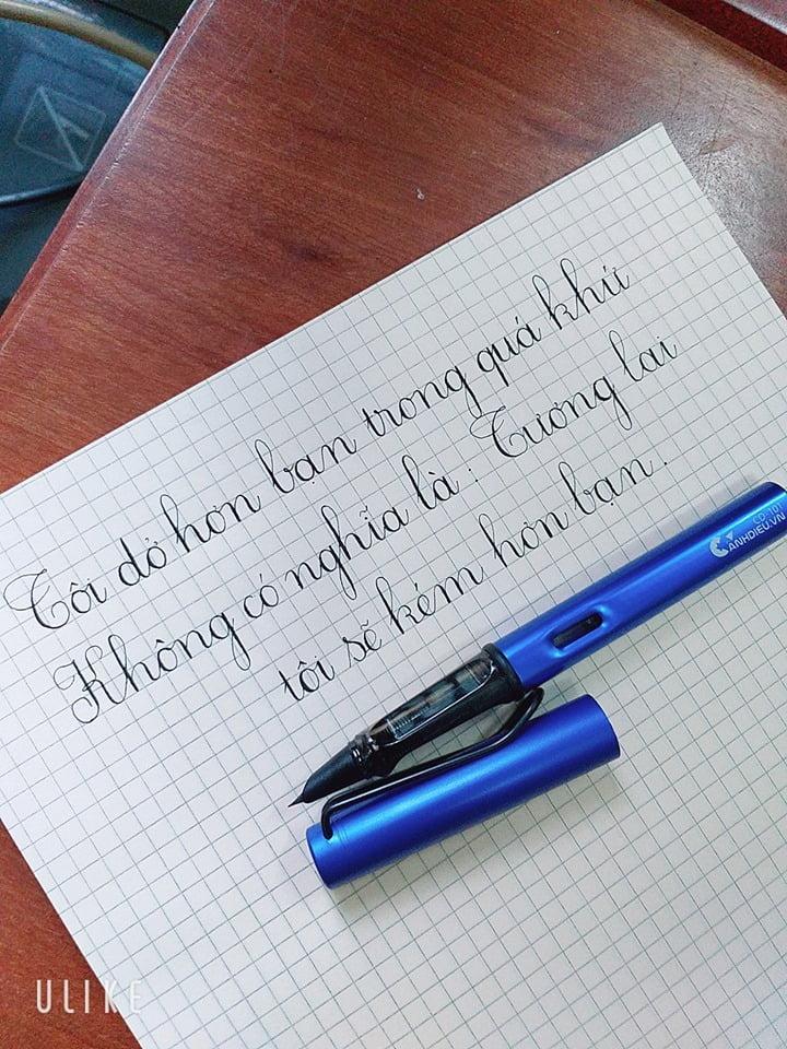 nguyên tắc viết chữ đẹp