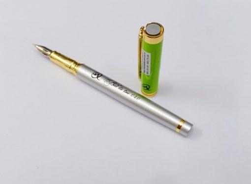 bút lá tre 040 calligraphy G trắng