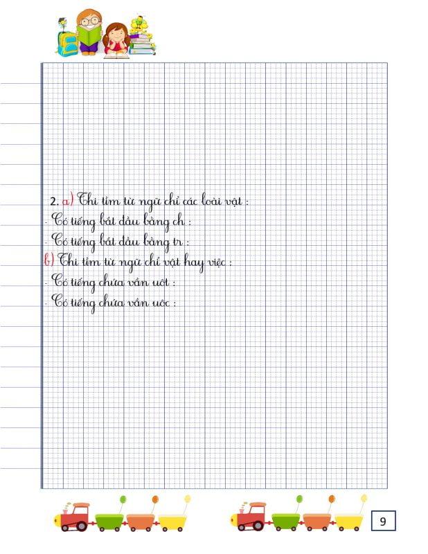 vở luyện chính tả lớvở luyện chính tả lớp 2 tập 2p 2 tập 2