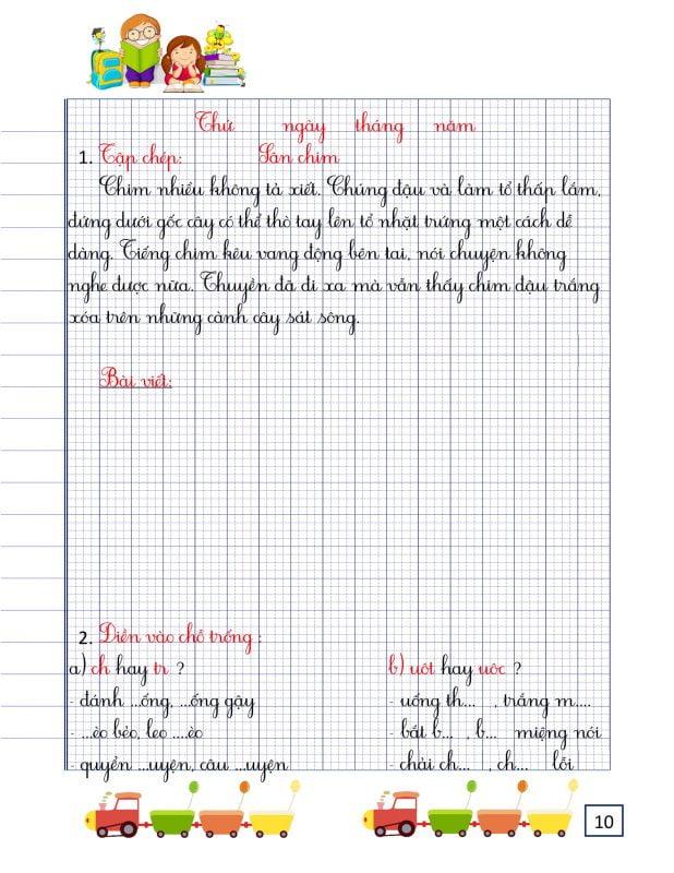 vở luyện chínvở luyện chính tả lớp 2 tập 2h tả lớp 2 tập 2