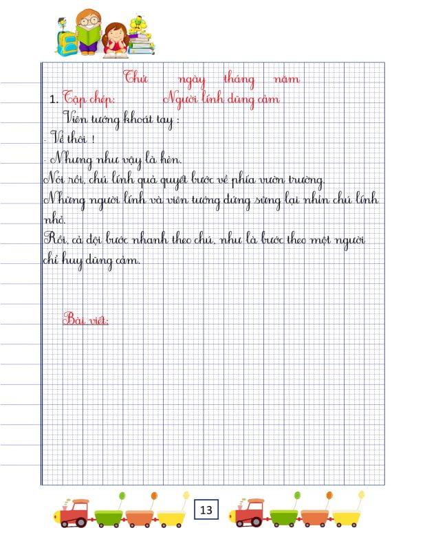 vở chính tả lớp 3 tập 1