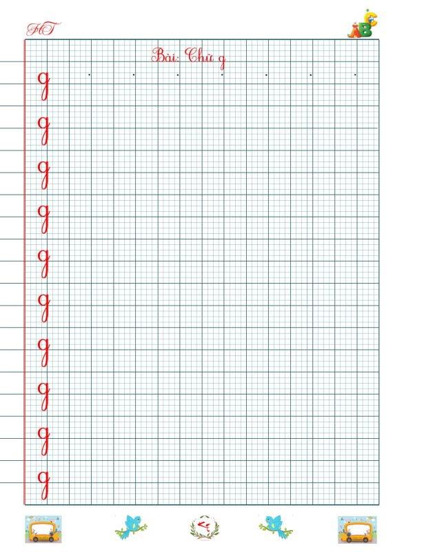 Vở luyện chữ đẹp chữ cái, chữ ghép và chữ số