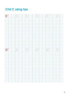CHỮ SÁNG TẠO Bản mềm: Vở luyện chữ sáng tạo, chữ nghệ thuật